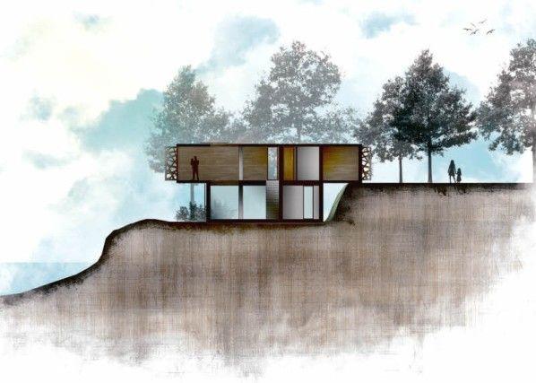 die besten 20+ architektur zeichnungen ideen auf pinterest, Innenarchitektur ideen