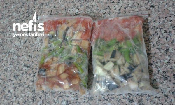 Dondurucuda Kışlık Patlıcan (Kizartmadan)