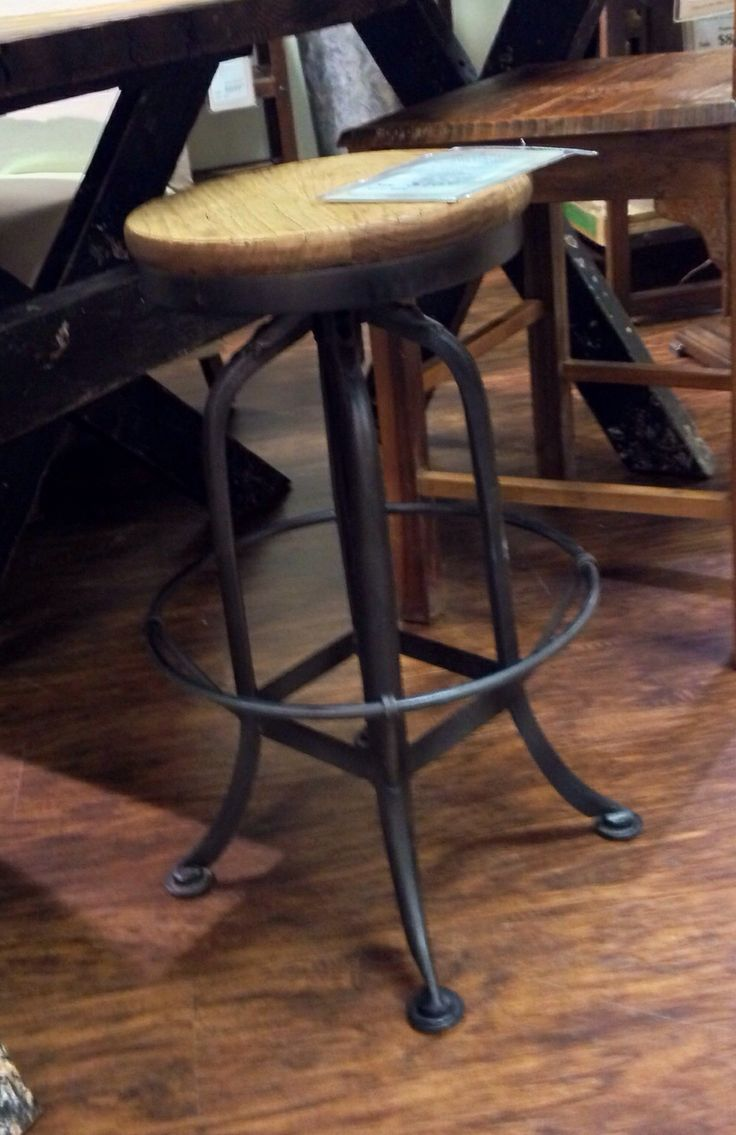 Kitchen Hom Furniture Reclaimed Wood Bar Stools
