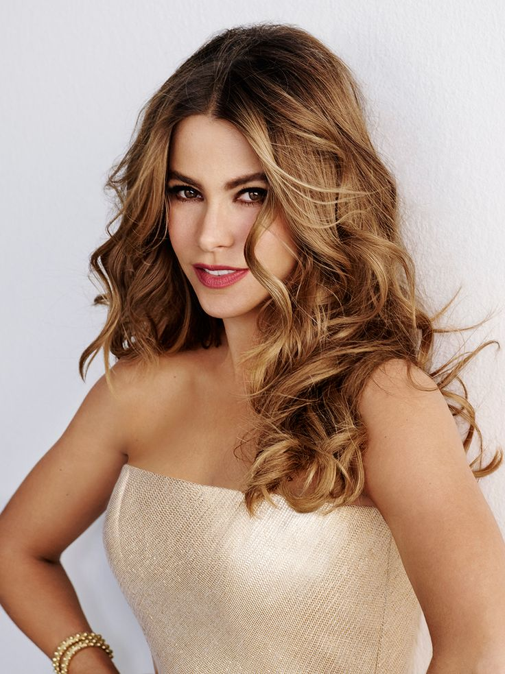 Sofia Vergara. I love modern family! Plus me and Sofia have the same birthday~Athena