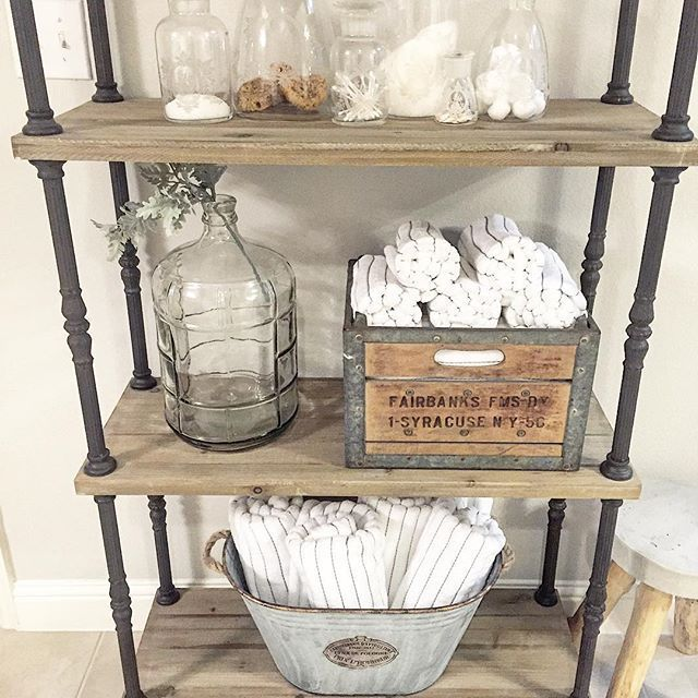 """Just call me the crazy crate lady!! This """"found"""" milk crate can be used just about anywhere! I love that each one of those is unique! Copy and paste the direct affiliate link in my second comment into your address bar to purchase! @antiquefarmhouse has lots of found goodies right now so check them out!"""