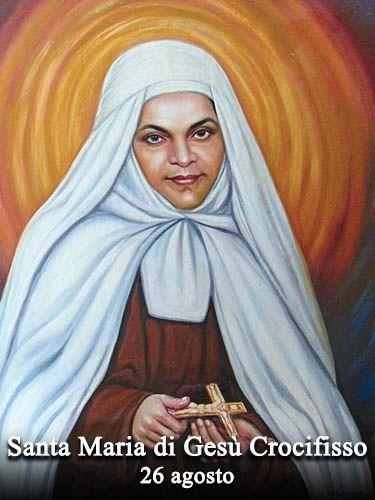 Mariam Baouardy comunemente chiamata Maria di Gesù Crocifisso fu una religiosa libanese, appartenente all'Ordine dei carmelitani scalzi,...