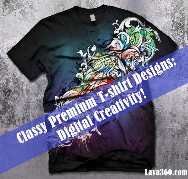 Latest 25 Classy Premium #Tshirt #Designs: Digital Creativity!