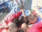 Beach Soccer - FINALI: la Belpassese si carica prima del match