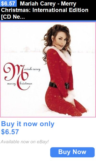 Christmas Songs And Album: Mariah Carey - Merry Christmas: International Edition [Cd New] BUY IT NOW ONLY: $6.57