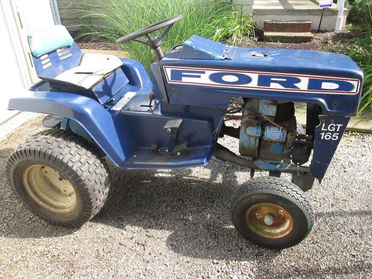 12 best ford garden tractors images on pinterest for Ford garden tractor
