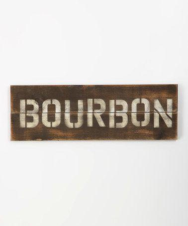 Loving this Bourbon Wall Art on #zulily! #zulilyfinds