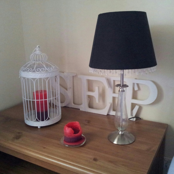 H@Home: Bedroom Lamp / Side Table