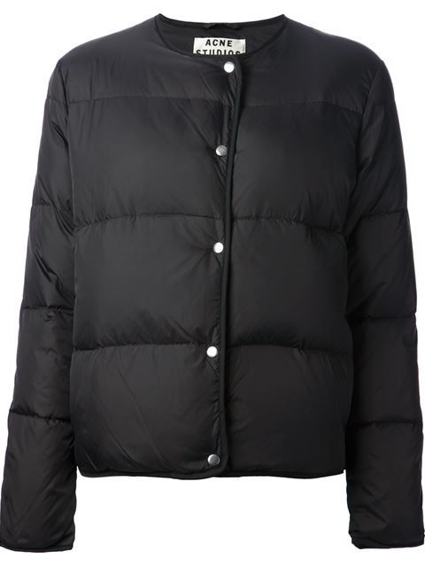 Acne Studios 'sophia' Padded Jacket - - Farfetch.com