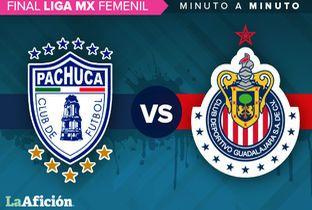 Pachuca vs Chivas en vivo Final ida Liga MX Femenil MINUTO A MINUTO - Milenio.com
