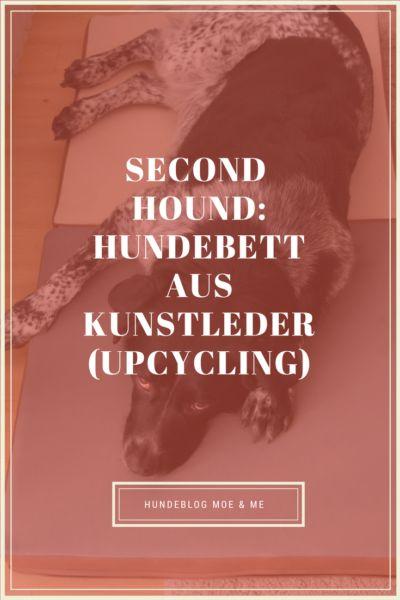 Upcycling: Hundebett aus Kunstleder von Second Hound