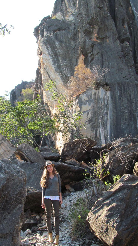 Pedreira perto do Parque Estadual da Serra do Cipó - Brasil