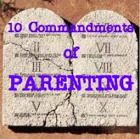 Raising Godly Children: 10 Commandments of Parenting