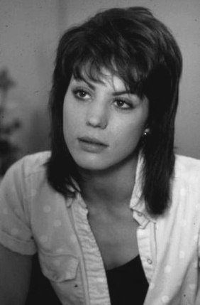 This is a nice fresh-faced picture of Joan Jett. You never really saw her like this.