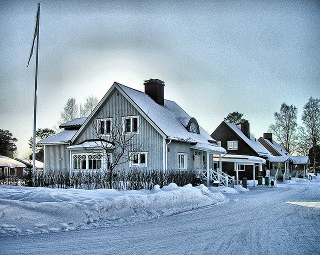 A house in Umeå.