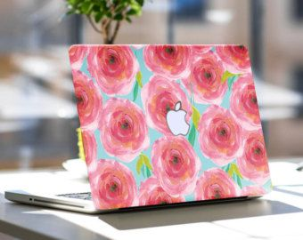 First Impression Pink Skin Decal for Macbook Air & Mac Pro (All Models), Samsung, Dell, Toshiba, HP, Any Laptop - Special One of a Kind Gift