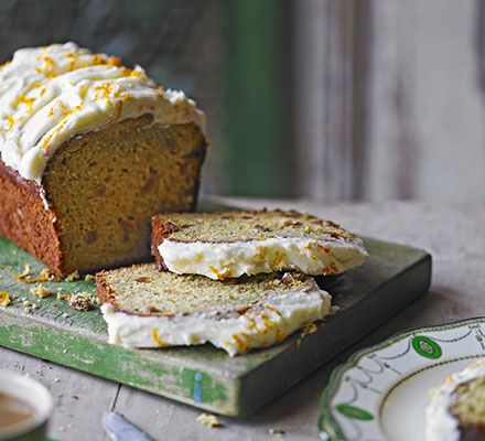 Forget the carrot cake, this light, moist courgette cake is packed with flavour and it goes perfectly with a cup of tea