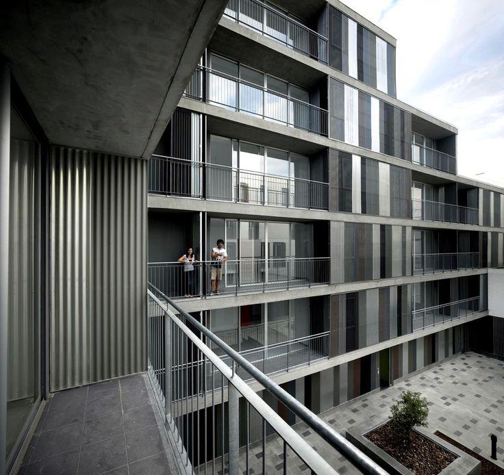46 Viviendas Sociales,© Roland Halbe