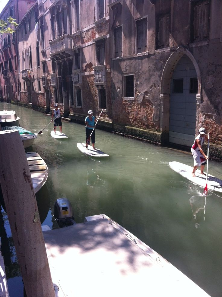 Stand up Paddling in Venice