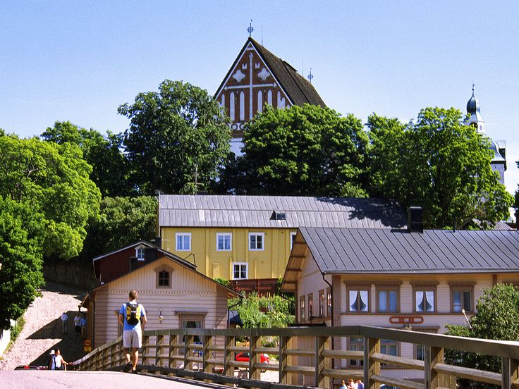 Porvoo, Finland's second-oldest town, comes alive in the summer with its charming cafe life and coastal location. Porvoo Cathedral, one of the city's most well-known landmarks, was built in the 15th century and has burned down 5 times; its most recent renovation was in 2008.