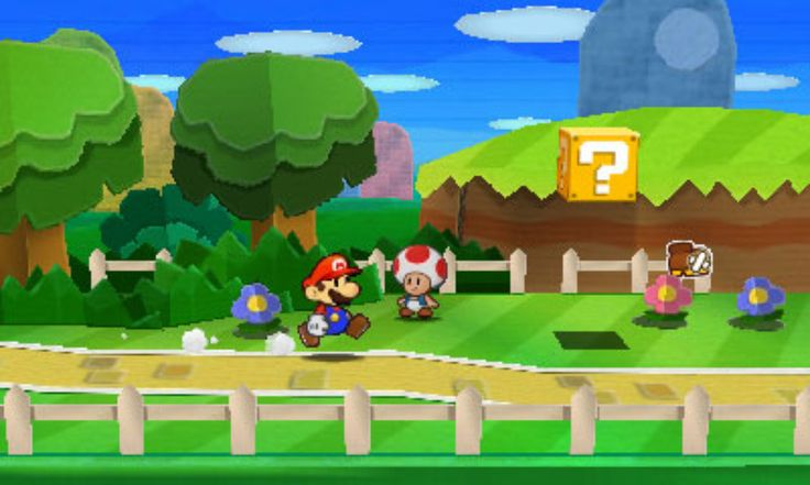 If you can handle some segments taking far longer than the rest of the game though, Paper Mario: Sticker Star is a worthy, funny and ultimately light-hearted RPG to add to your 3DS library. Description from onehitpixel.com. I searched for this on bing.com/images