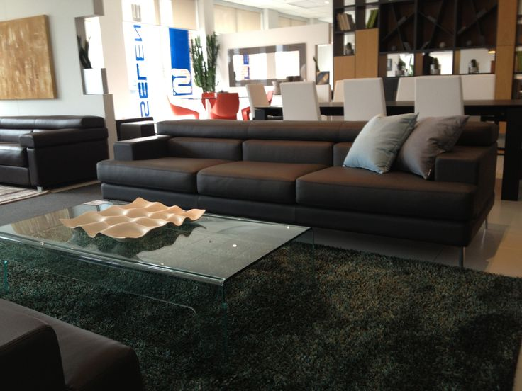 Unos sofa. Available in your choice of leather or fabric. Products available through Selene. www.selenefurniture.com