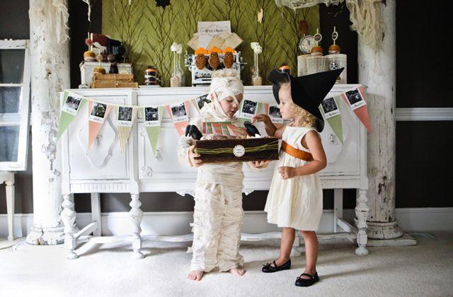 Disfraces caseros para niños para Halloween