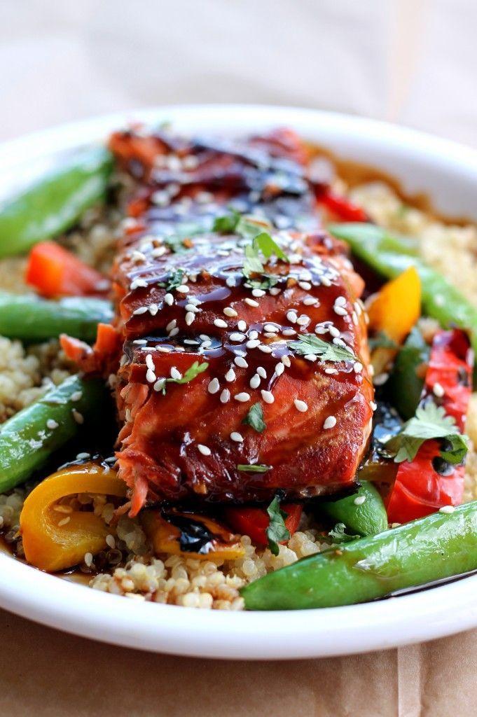 手机壳定制air jordan retro  royal blue Sesame Ginger Sweet Teriyaki Salmon with Garlic Quinoa Stir fry JuJu Good News