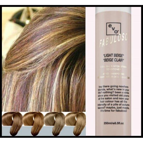 Light Beige Hair Colors EVO Fabuloso Light Beige 250