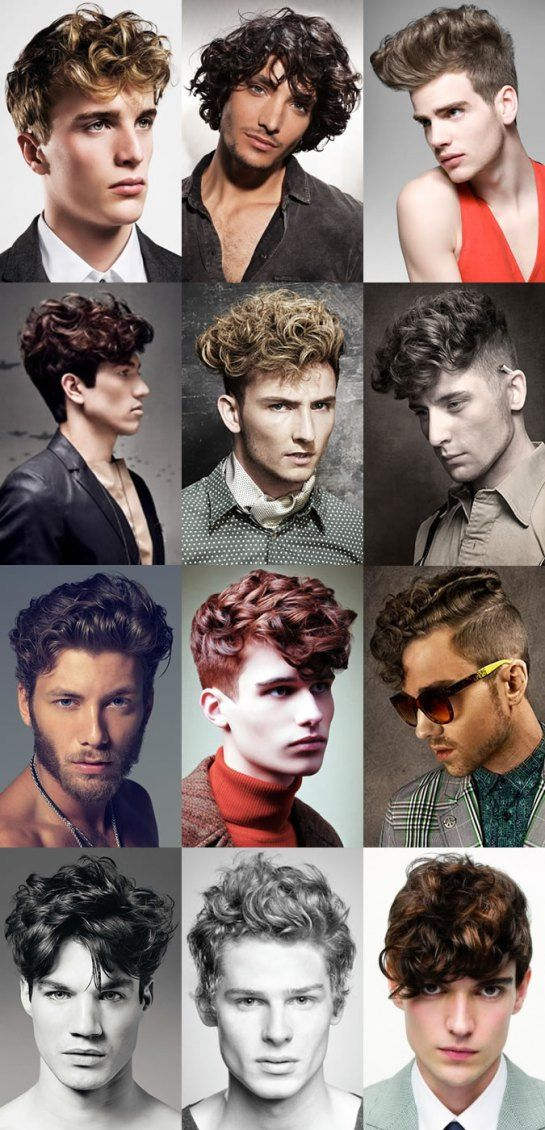 "Thick , Curly & Wavy men's hair. I'VE DIED!!! I'M DEFINITELY TRYING ALL OF THESE HAIRSTYLES OUT!!!!! LOVE LOVE LOVE LOVE <3 I SERIOUSLY CAN""T EVEN BREATHE, THAT'S HOW GREAT THESE HAIRSTYLES ARE!!!!!!!"