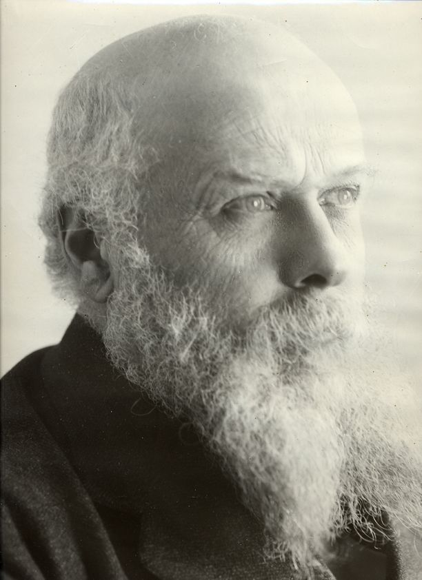 My great grandfather who founded Olivetti typewriters.  I'm translating his letters home from 1893.