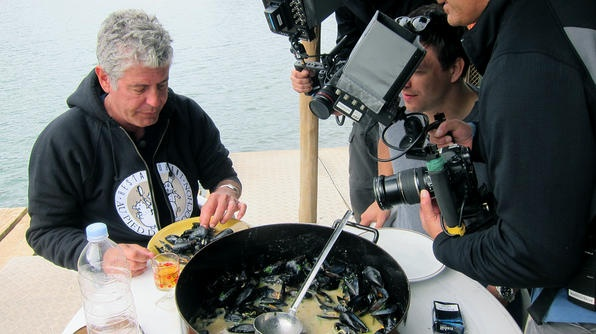 Anthony Bourdain in Croatia. His whole itinererary on www.tasteofcroatia.org: http://bit.ly/I4GImD