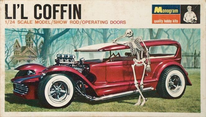 The story behind Dave Stuckey's L'il Coffin before it became a Monogram model.