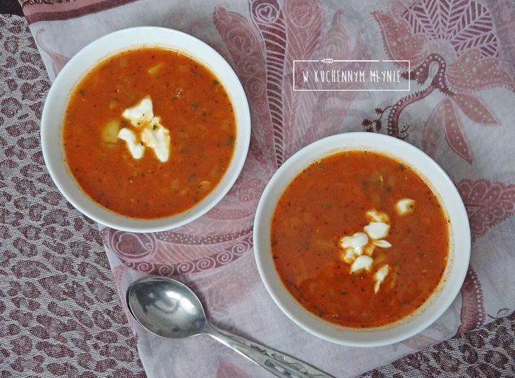 Aromatyczna zupa z soczewicą i ziemniakami