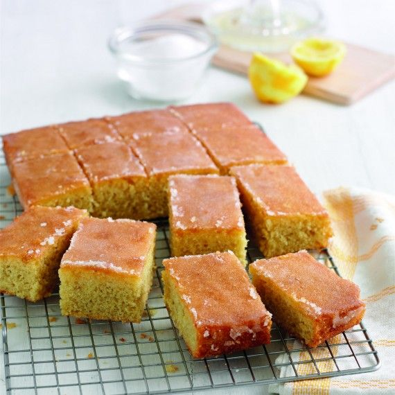 Mary Berry's Lemon Drizzle Traybake - Woman And Home