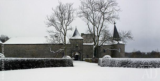 Зимний сад в Бельгии