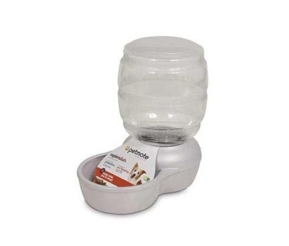 Petmate Replendish Automatic Cat & Dog Feeder White 10 lbs http://www.cleavercat.com/product-category/cat-feeders/