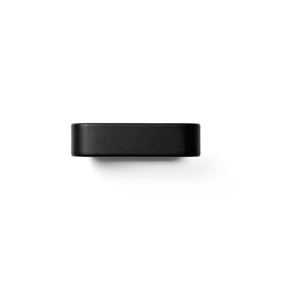 Bath Tissue Holder Black by Norm Architects for Menu