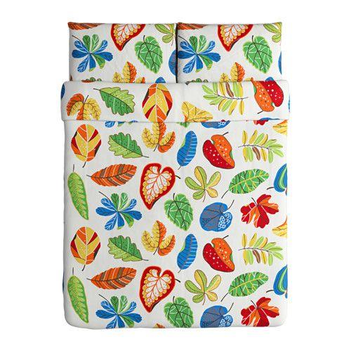 jonill duvet cover and pillowcases multicolor - Duvet Covers Ikea