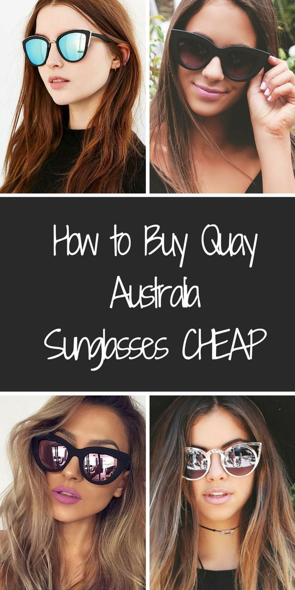 Shop this season's trendiest sunglasses from Quay Australia at prices up to 80% off retail. Find mirrored sunglasses, cat eye, and much much more at prices you won't believe! Click or tap the image to download the FREE app to get started TODAY.