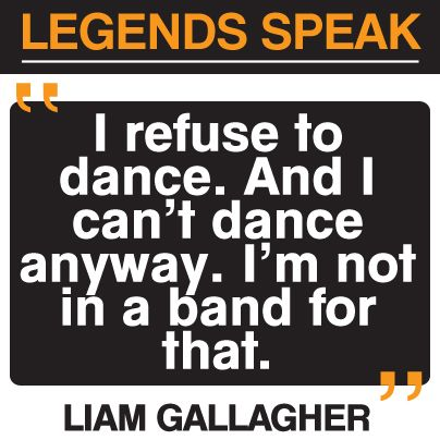 Liam Gallagher Oasis music quote #oasis #music