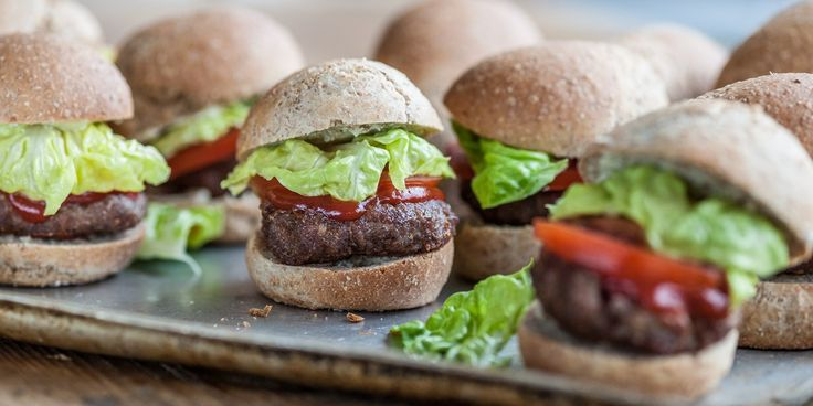 Lisa Allen's turkey sliders make great party snacks and can be cooked on the barbecue