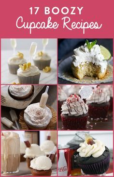 Cheers! One way to add some fun to your party plans is by doing some boozy baking! Add an extra shot of liquor to any of these cupcakes with Wilton Shot Top Flavor Infusers. At least one of these recipes is sure to wet your whistle.