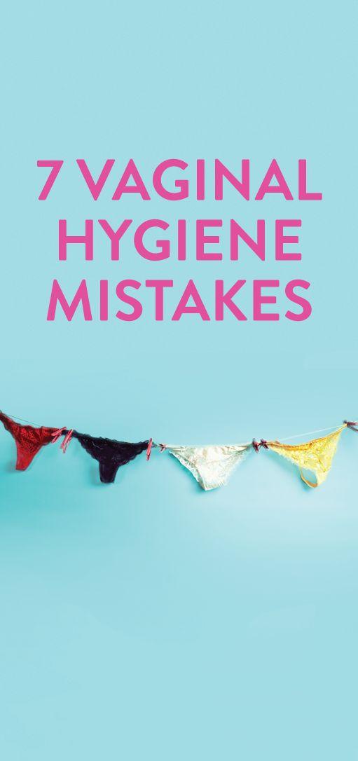 7 vaginal health mistakes