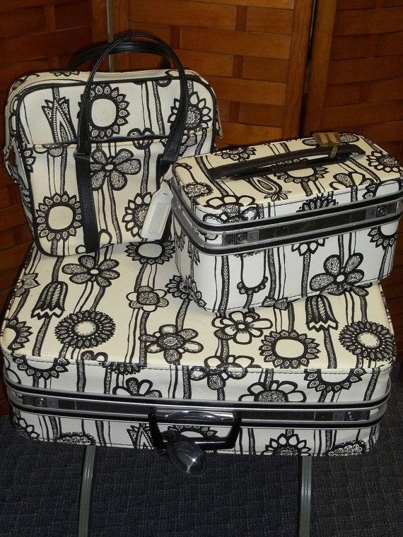 Vintage Marimekko Luggage $550