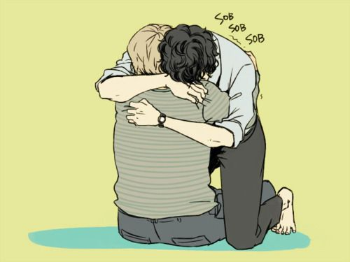 Someone needs to write a fic where Sherlock is more upset than John over Reichenbach, might be a little ooc, but it would be so perfect. D':  <---  sorry if this is self promoting or something but I have done that here - http://archiveofourown.org/works/916785/chapters/1845486