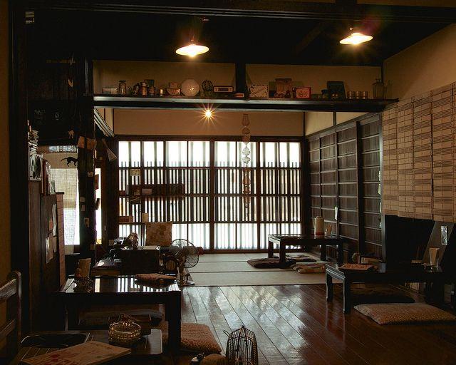 Hidamari Cafe In Nishijin Kyoto By Active U Flickr