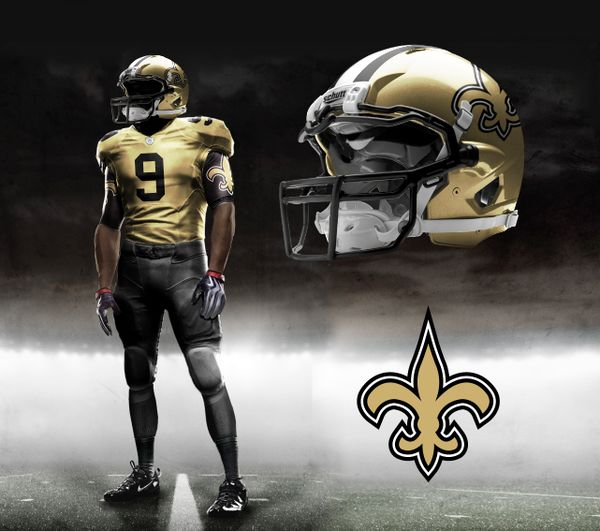 Nike NFL Pro Combat Uniform Concepts by Brandon Moore