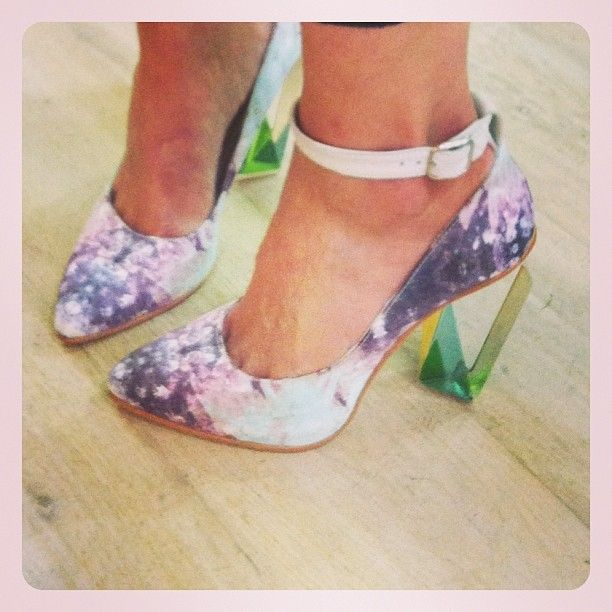 miista perspex heels @STEELEMyStyle come follow me