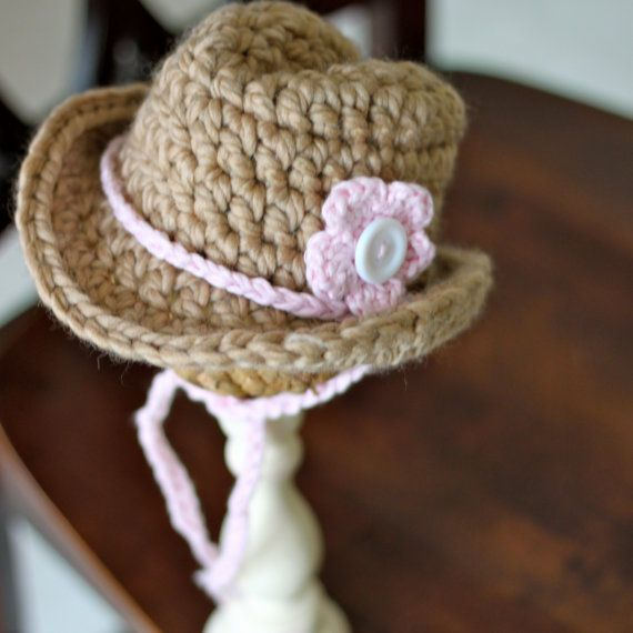 Free Crochet Pattern For Cowboy Hat : Crochet Cowboy hat! Crochet-things I like and want to ...